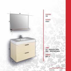 Vertex MINIMAL DESIGN 90 Juliet bútor összeállítás M90_JULIET