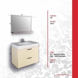 Vertex MINIMAL DESIGN 70 Juliet bútor összeállítás M70_JULIET