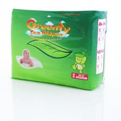 GREENTY Tea Diaper 0-6 kg - 30 buc