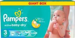 Pampers Active Baby 3 Midi (4-9 kg) Value Pack - 112 buc