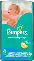 Pampers Active Baby-Dry 4 Maxi (7-14 kg) 54 buc