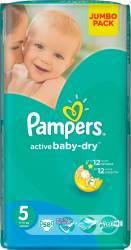 Pampers Active Baby 5 Junior (11-18 kg) Jumbo Pack - 58 buc