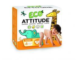 ATTITUDE ECO Maxi 4 (9-14 kg) 26 buc