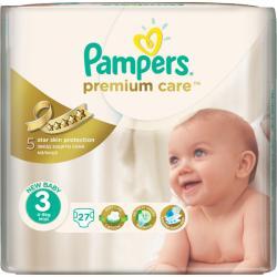 Pampers Premium Care 3 Midi (4-9 kg) 27 buc