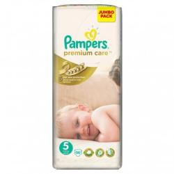 Pampers Premium Care 5 Junior (11-18 kg) Jumbo Pack - 56 buc
