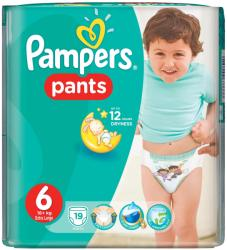 Pampers Active Baby Pants 6 Extra Large (peste 16 kg) 19 buc