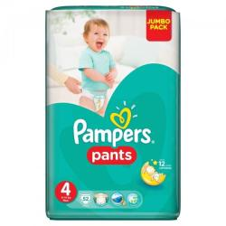 Pampers Active Baby Pants 4 Maxi (9-14 kg) Jumbo Pack - 52 buc