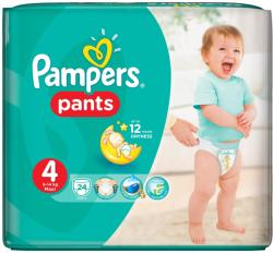 Pampers Active Baby Pants 4 Maxi (9-14 kg) 24 buc