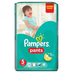 Pampers Active Baby Pants 5 Junior (12-18 kg) Jumbo Pack - 48 buc