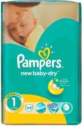 Pampers NewBaby-Dry 2 Mini (3-6 kg) 43 buc