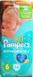 Pampers Active Baby-Dry 6 Extra Large (peste 15 kg) Giant Pack - 56 buc