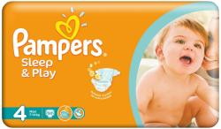 Pampers Sleep&Play 4 Maxi (7-14 kg) Value Pack - 50 buc