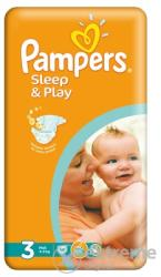 Pampers Sleep&Play 3 Midi (4-9 kg) 58 buc