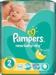 Pampers NewBaby-Dry 2 Mini (3-6 kg) Value Pack - 72 buc