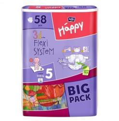 Bella Baby Happy 5 Junior (12-25 kg) 58 buc