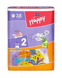 Bella Baby Happy 2 Mini (3-6 kg) 38 buc