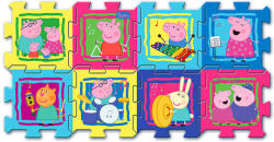 Trefl Szivacs puzzle - Peppa malac 8 db-os