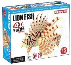 4D Master 4D puzzle Oroszlánhal 15 db-os