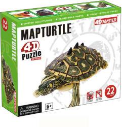 4D Master 4D puzzle Teknősbéka 22 db-os