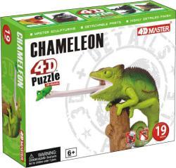 4D Master 4D puzzle Kaméleon 19 db-os