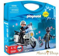Playmobil Rajtaütés Tároló Dobozban (5891)