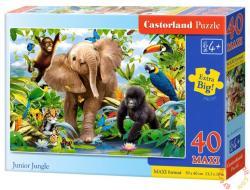 Castorland Maxi puzzle - Jungle 40 db-os (B-040124)
