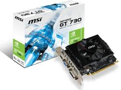 MSI GeForce GT 730 2GB GDDR3 128bit PCIe (N730-2GD3V2)