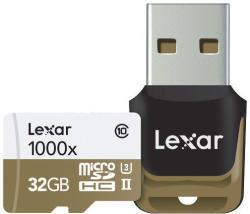 Lexar MicroSDHC 32GB 1000x LSDMI32GCBEU1000R
