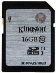 Kingston SDHC 16GB Class 10 SD10VG2/16GB