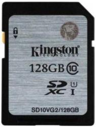 Kingston SDXC 128GB Class 10 SD10VG2/128GB