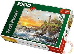 Trefl Naplemente a sziklás parton 3000 db-os (33044)