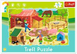 Trefl A farmon 15 db-os keretes puzzle (31216)