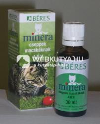 Picături Béres Minera A. U. V. pentru pisici 30 ml