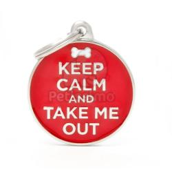 My family medalion - Keep Calm and Take Me Out 1 buc