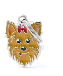 My family medalion- Yorkshire Terrier 1 buc