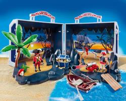 Playmobil Set mobil insula piratilor (5347)