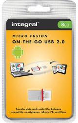 Integral Micro Fusion 8GB INFD8GBMIC-OTG