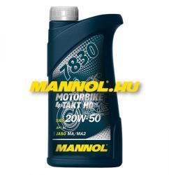 MANNOL 7830 Motorbike 4-Takt HD 20W50 API SL (1L)