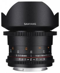 Samyang 14mm T3.1 VDSLR ED AS IF UMC II (Samsung)