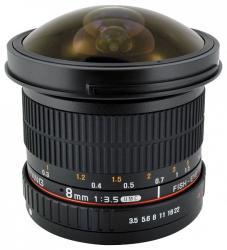 Samyang 8mm f/3.5 UMC Fish-eye II (Fujifilm)
