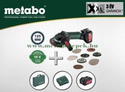 Metabo W 18 LTX 125 Quick Inox