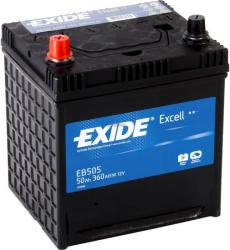 Exide Excell EB505 50Ah 360A Bal+ (EB505)