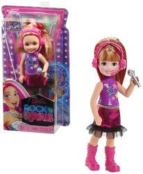 Mattel Barbie, a rocksztár hercegnő - Chelsea sztárcsemete baba mikrofonnal (CKB71)