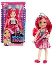 Mattel Barbie, a rocksztár hercegnő - Chelsea sztárcsemete baba rózsaszín gitárral (CKB69)