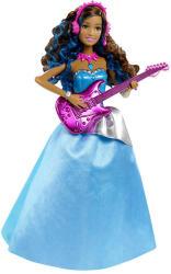 Mattel Barbie, a rocksztár hercegnő - Erika baba gitárral (CKB67)