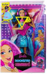 Mattel Barbie, a rocksztár hercegnő - Erika éneklő hercegnő baba (CMT11)
