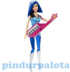 Mattel Barbie, a rocksztár hercegnő - Zia baba billentyűs gitárral (CKB62)