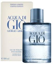 Giorgio Armani Acqua di Gio pour Homme (Blue Limited Edition) EDT 100ml Tester