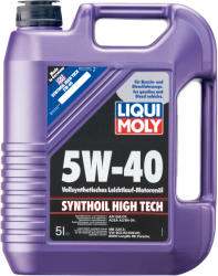 LIQUI MOLY Synthoil High Tech 5W40 5L