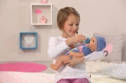 Zapf Creation Baby Born - Bebe baietel interactiv cu accesorii (819203)